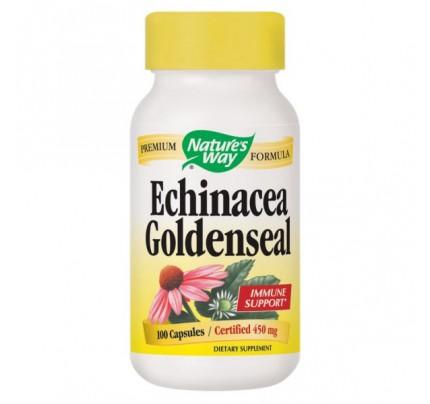 Echinacea Goldenseal 450mg 100 Capsules