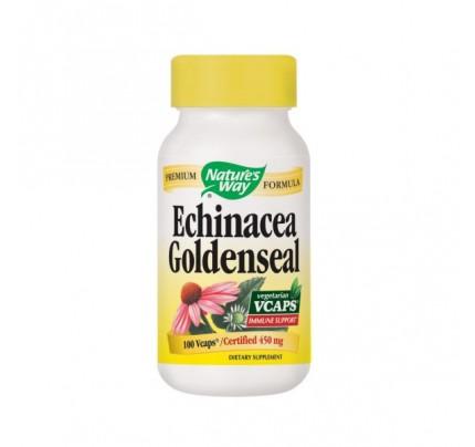 Echinacea Goldenseal 450mg 100 Vegetarian Capsules