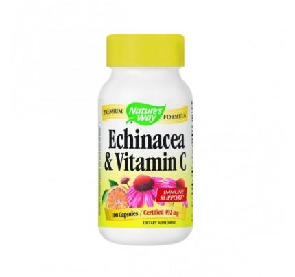 Echinacea with Vitamin C 461 mg 100 Capsules