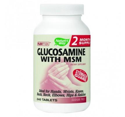 FlexMax Glucosamine with MSM 900mg 240 Capsules