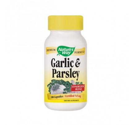 Garlic & Parsley 545mg 100 Capsules