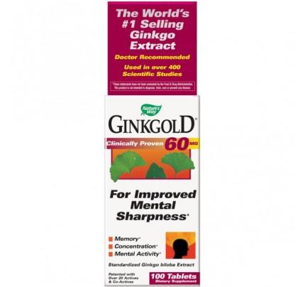 Ginkgold 60mg 100 Tablets