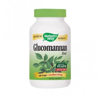 Glucomannan Konjac Root 663mg 180 Vegetarian Capsules