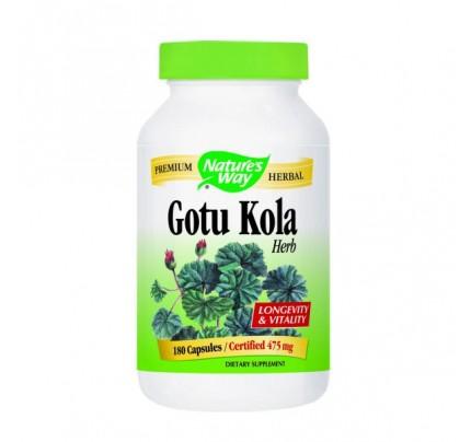 Gotu Kola Herb (stem, leaf) 425mg 180 Capsules