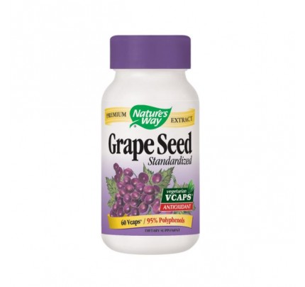 Grape Seed Standardized Extract 300mg 60 Vegetarian Capsules