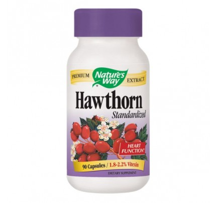 Hawthorn Standardized Extract 465mg 90 Capsules