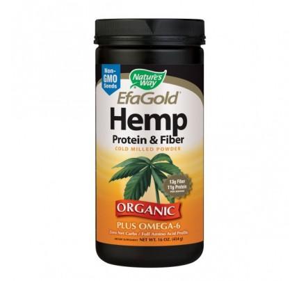 EfaGold Hemp Protein & Fiber Powder 16oz.
