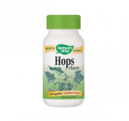 Hops Flowers 310mg 100 Capsules