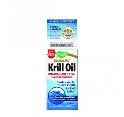 Krill Oil 500mg 30 Softgels