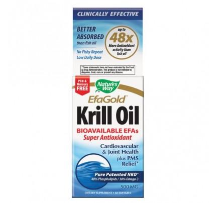 Krill Oil 500mg 60 Softgels