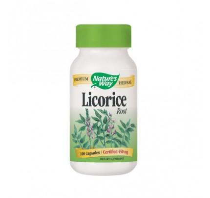 Licorice Root 450mg 100 Capsules