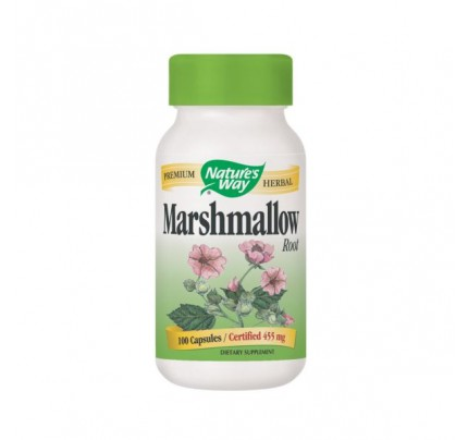 Marshmallow Root 480mg 100 Capsules