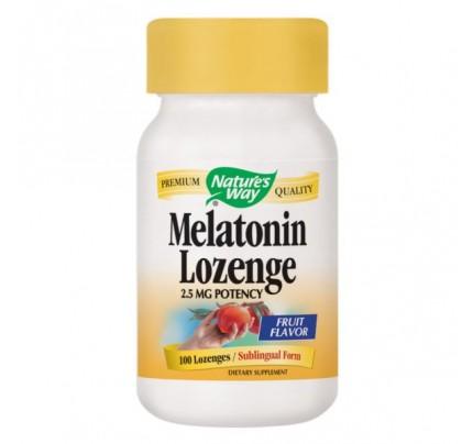 Melatonin Sublingual 2.5 mg 100 Lozenges
