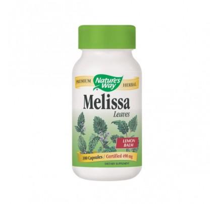 Melissa Leaves Lemon Balm 500mg 100 Capsules