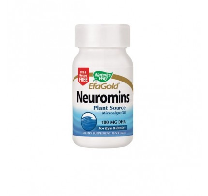 EfaGold Neuromins Vegetarian DHA 100mg 30 Softgels