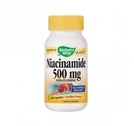 Niacinamide 500 mg 100 Capsules