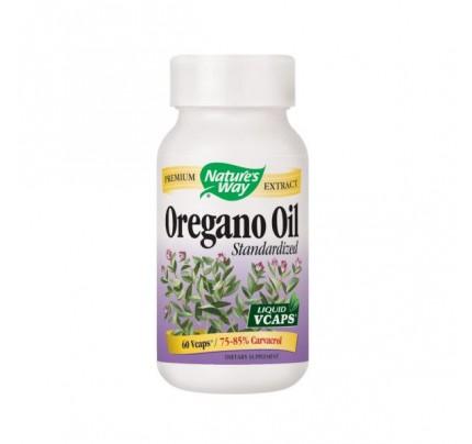 Oregano Oil Standardized 50 mg 60 Vegetarian Capsules
