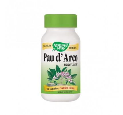 Pau D'Arco Inner Bark 545mg 100 Capsules