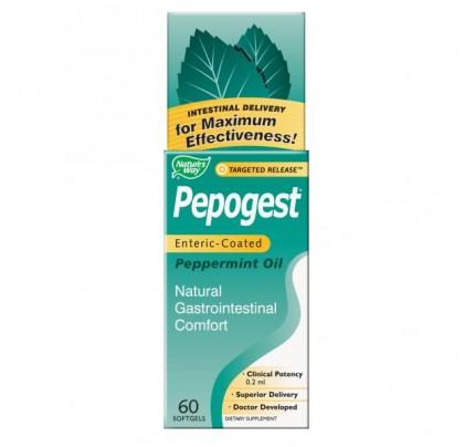 Pepogest Peppermint Oil 60 Softgels