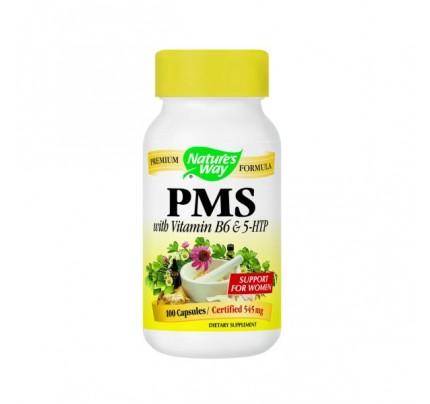 PMS with Vitamin B-6 & 5-HTP 100 Capsules