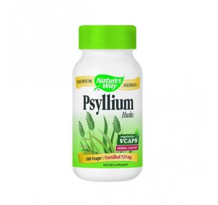Psyllium Husks 525mg 100 Capsules