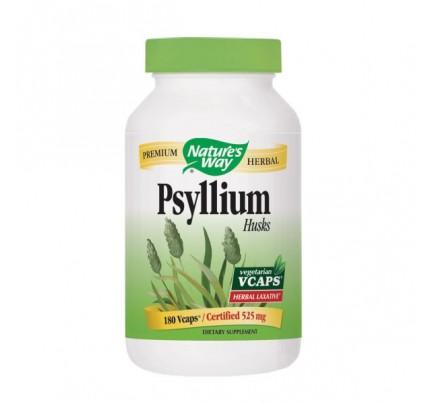 Psyllium Husks 525mg 180 Vegetarian Capsules