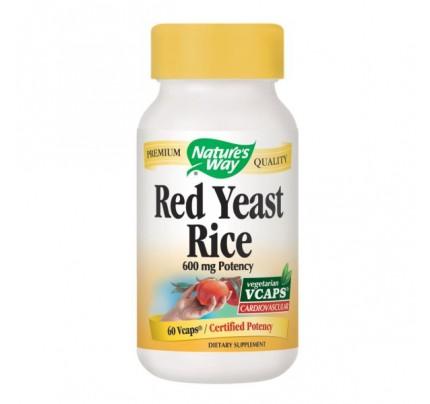 Red Yeast Rice 600 mg 60 Vegetarian Capsules