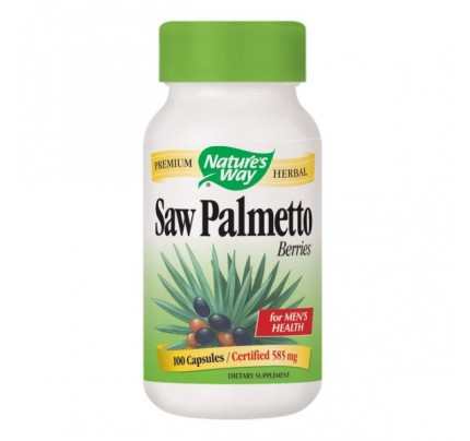 Saw Palmetto Berries 585mg 100 Capsules