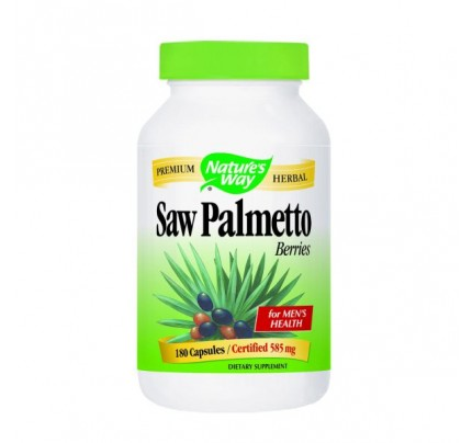 Saw Palmetto Berries 585mg 180 Capsules
