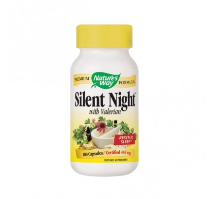 Silent Night with Valerian 440mg 100 Capsules