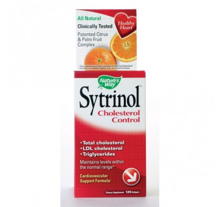 Sytrinol Cholesterol Control 150mg 120 Softgels