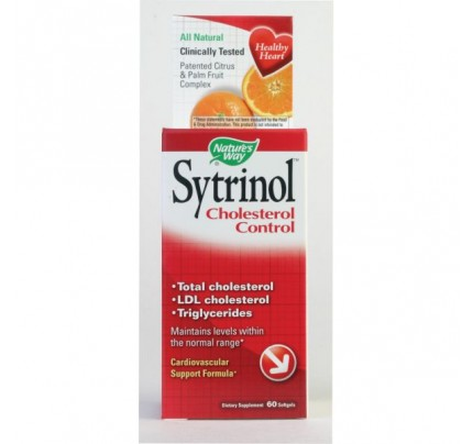 Sytrinol Cholesterol Control 150mg  60 Softgels