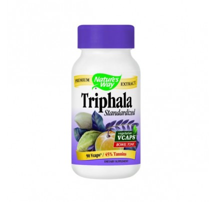 Triphala Standardized 500mg 90 Vegetarian Capsules