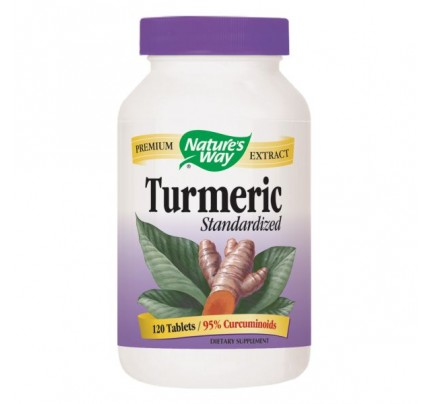 Turmeric Standardized Extract 950mg 120 Tablets