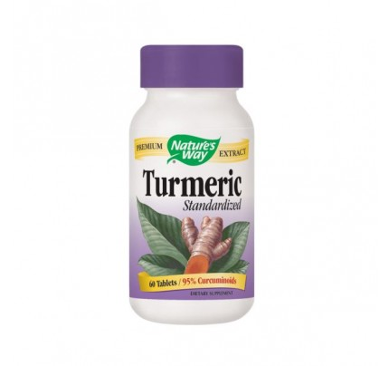 Turmeric Standardized Extract 950mg 60 Tablets
