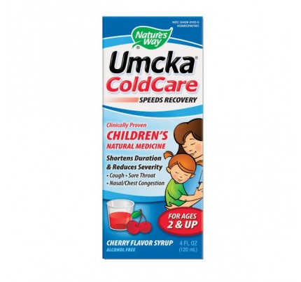 Umcka ColdCare Children's Soothing Cherry Syrup 4oz.