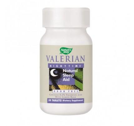 Valerian Nighttime 240 mg 50 Tablets