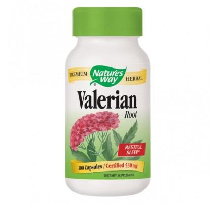 Valerian Root 530mg 100 Capsules