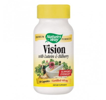 Vision Formula with Lutein & Bilberry 60 Capsules