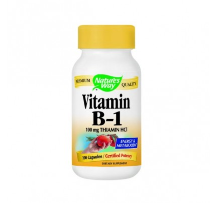Vitamin B-1 100mg 100 Capsules