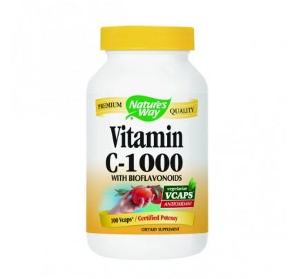 Vitamin C-1000 Bioflavonoids 525mg 100 Vegetarian Capsules