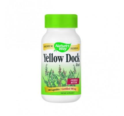 Yellow Dock Root 500mg 100 Capsules