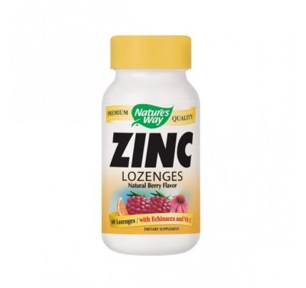 Zinc Lozenges with Echinacea and Vitamin C 23mg 60 Lozenges
