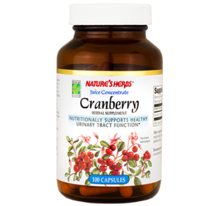 Cranberry Juice Concentrate 440mg 100 Capsules