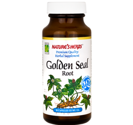 Golden Seal Root 535mg 100 Capsules