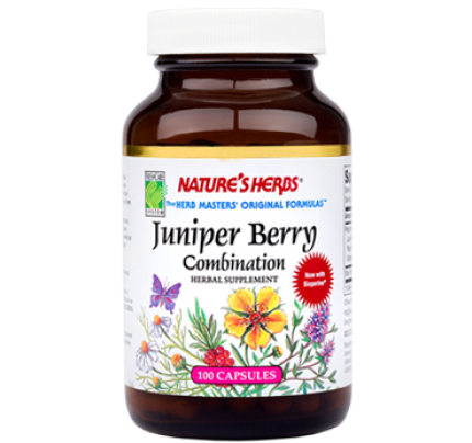 Juniper Berry Combination 410 mg 100 Capsules