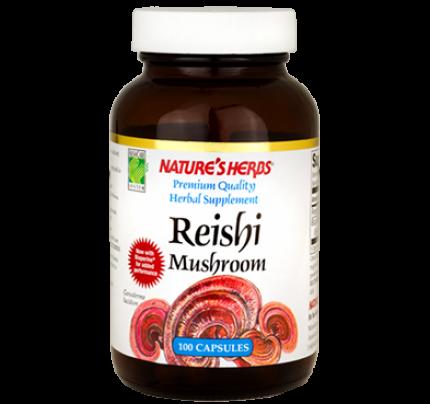 Reishi Mushroom 600mg 100 Capsules