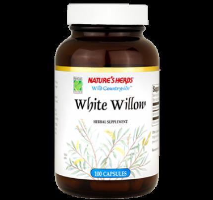 White Willow Bark 375mg 100 Capsules