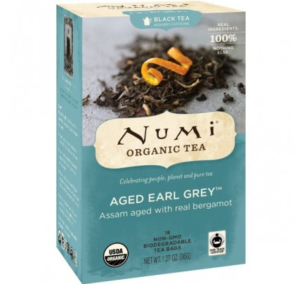 Aged Earl Grey Black Tea 18 Tea Bags