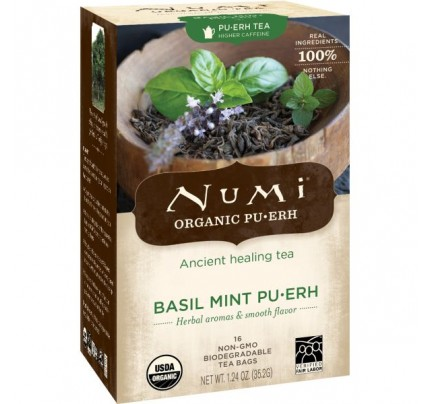 Basil Mint Puerh 16 Tea Bags